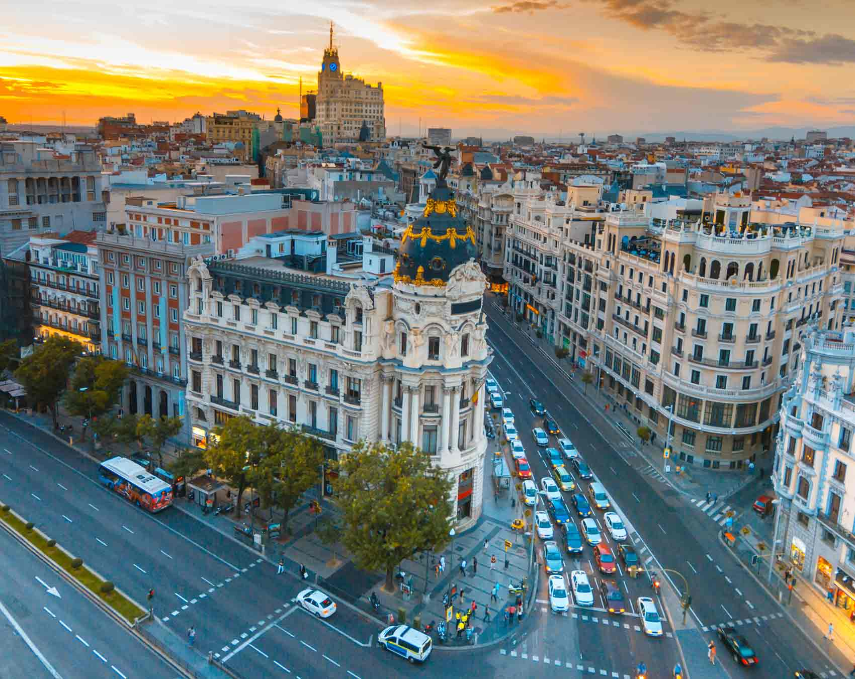 Tour guiado en autobús por Madrid