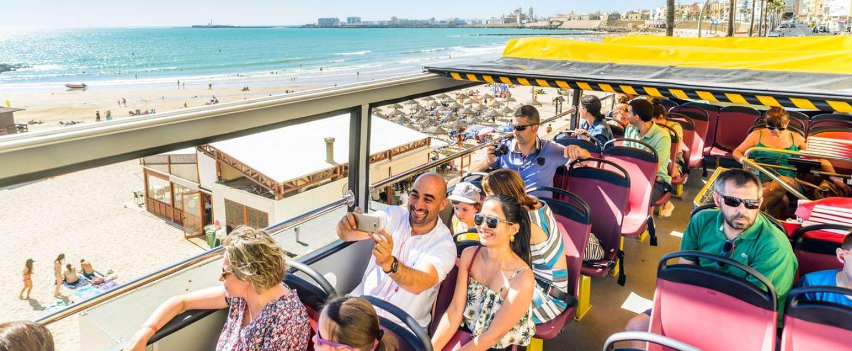 Bus turístico de Cádiz