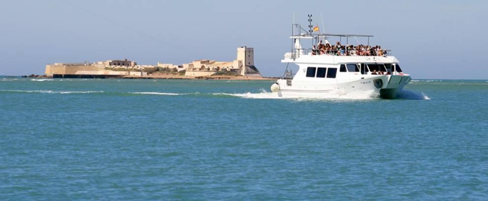 Paseo en barco por la Bahía de Cádiz