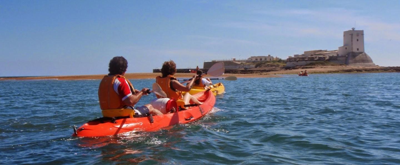 Sancti Petri Castle Kayak Tour