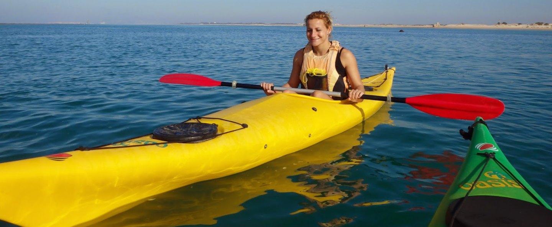 Sancti Petri marshes Kayak tour