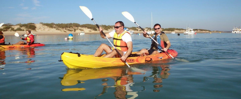 Tour en Kayak por Sancti Petri y las marismas