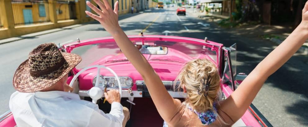 Tour en coche clásico por La Habana