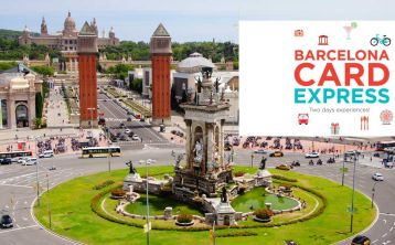 Barcelona Express Card: 2 Days of Transport & Discounts