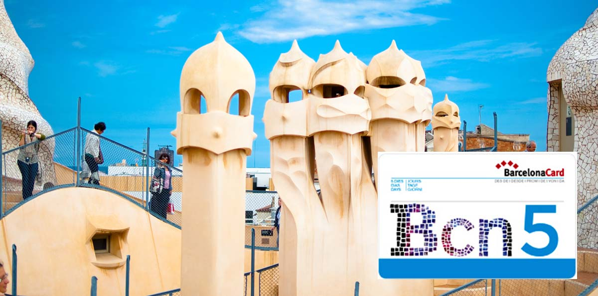 Barcelona Card: transport, tickets and discounts for 3, 4 or 5 days