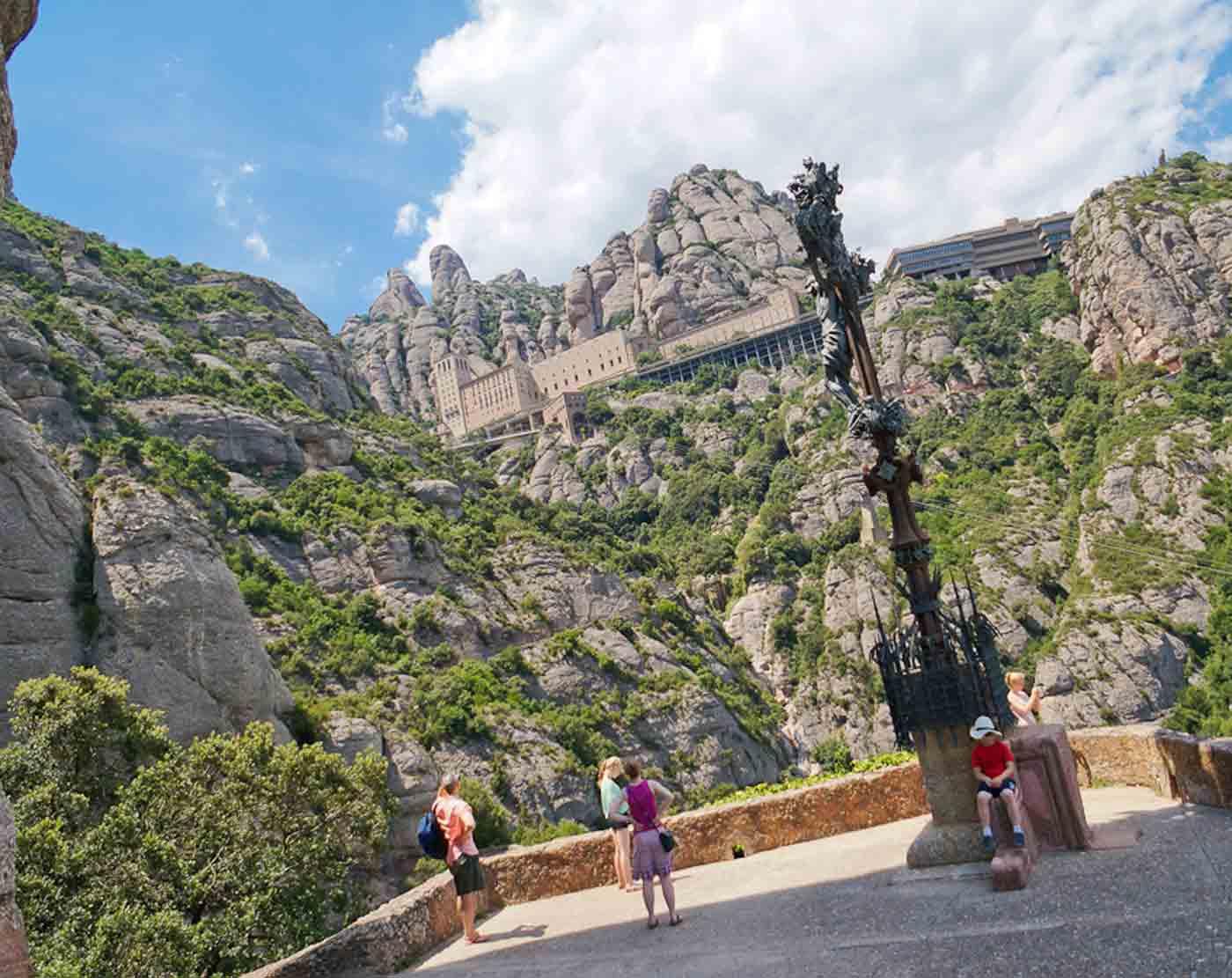 Monastery of Monserrat half day tour from Barcelona