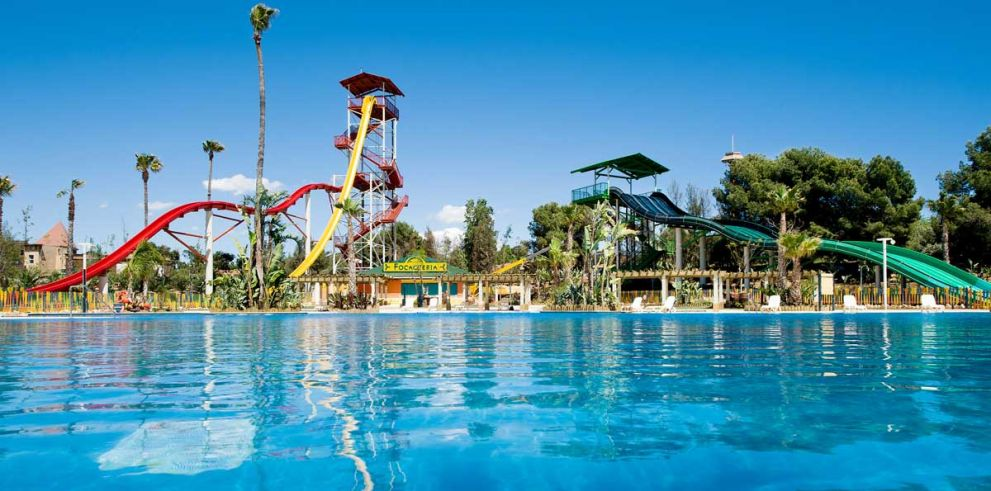 Costa Caribe Aquatic Park ticket & Bus from Barcelona