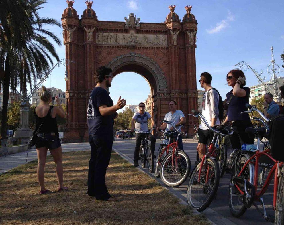 Barcelona Highlights Bike Tour