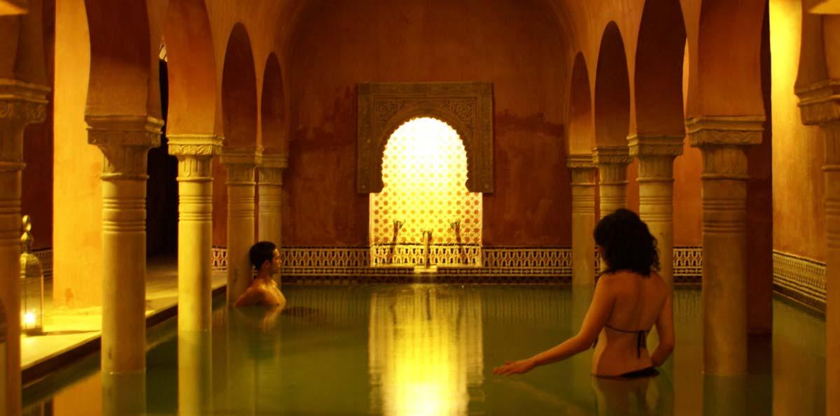 Baños árabes Hammam Al-Ándalus Granada