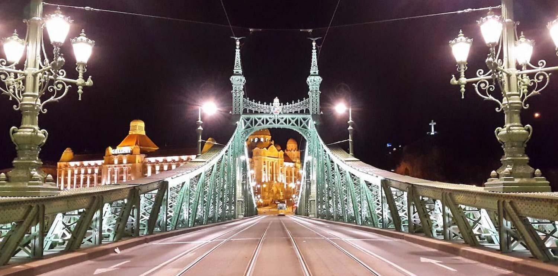 Tour nocturno por Budapest con cena y espectáculo típico