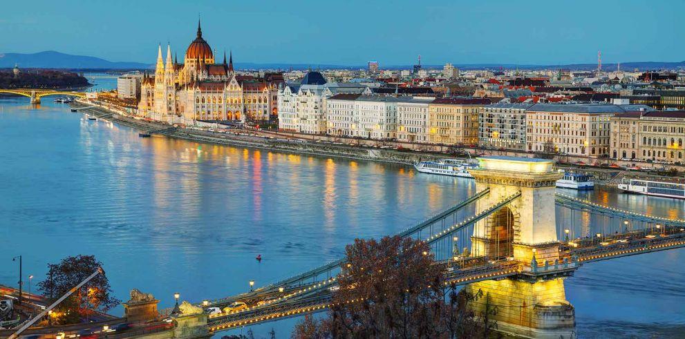 Paseo en barco por Budapest