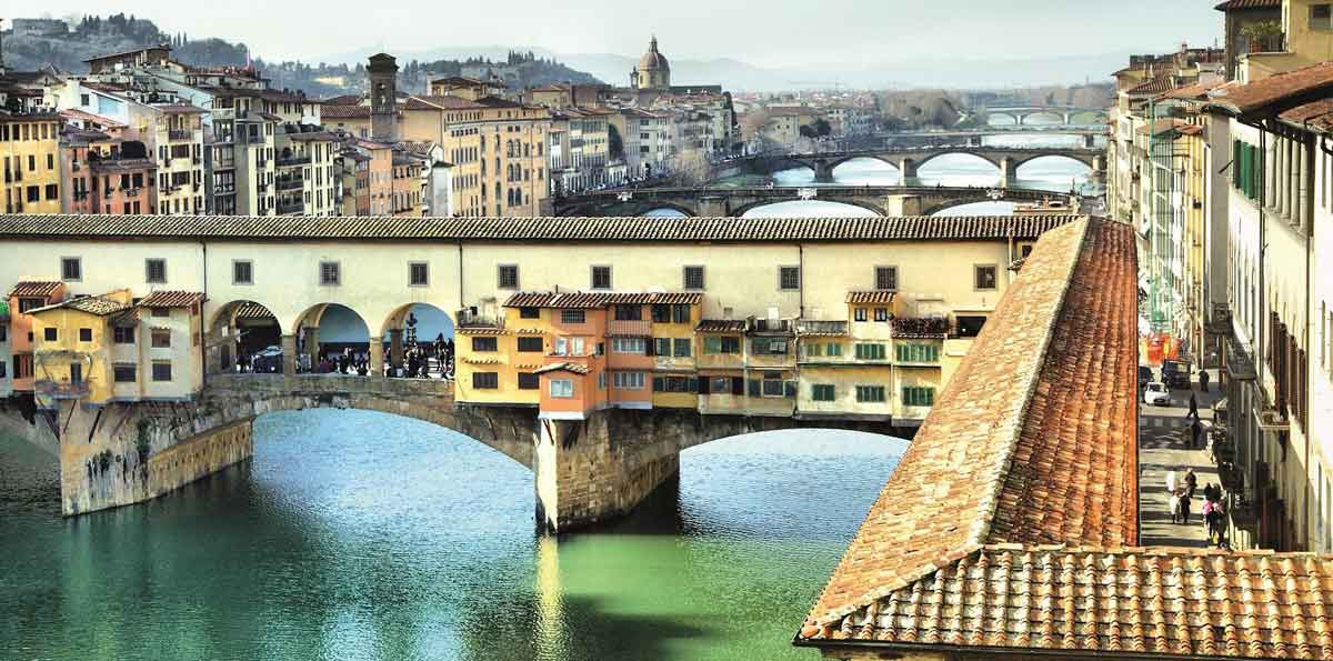 Florence Walking Tour and Uffizi Gallery Museum