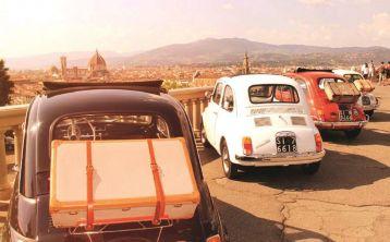 Tour en Fiat 500 Vintage por Florencia