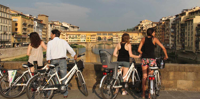 Tour en bicicleta eléctrica por Florencia