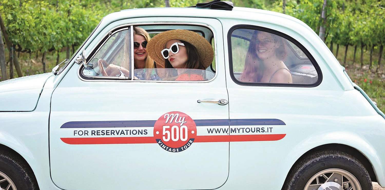 Tour en Fiat 500 por el Chianti desde Florencia