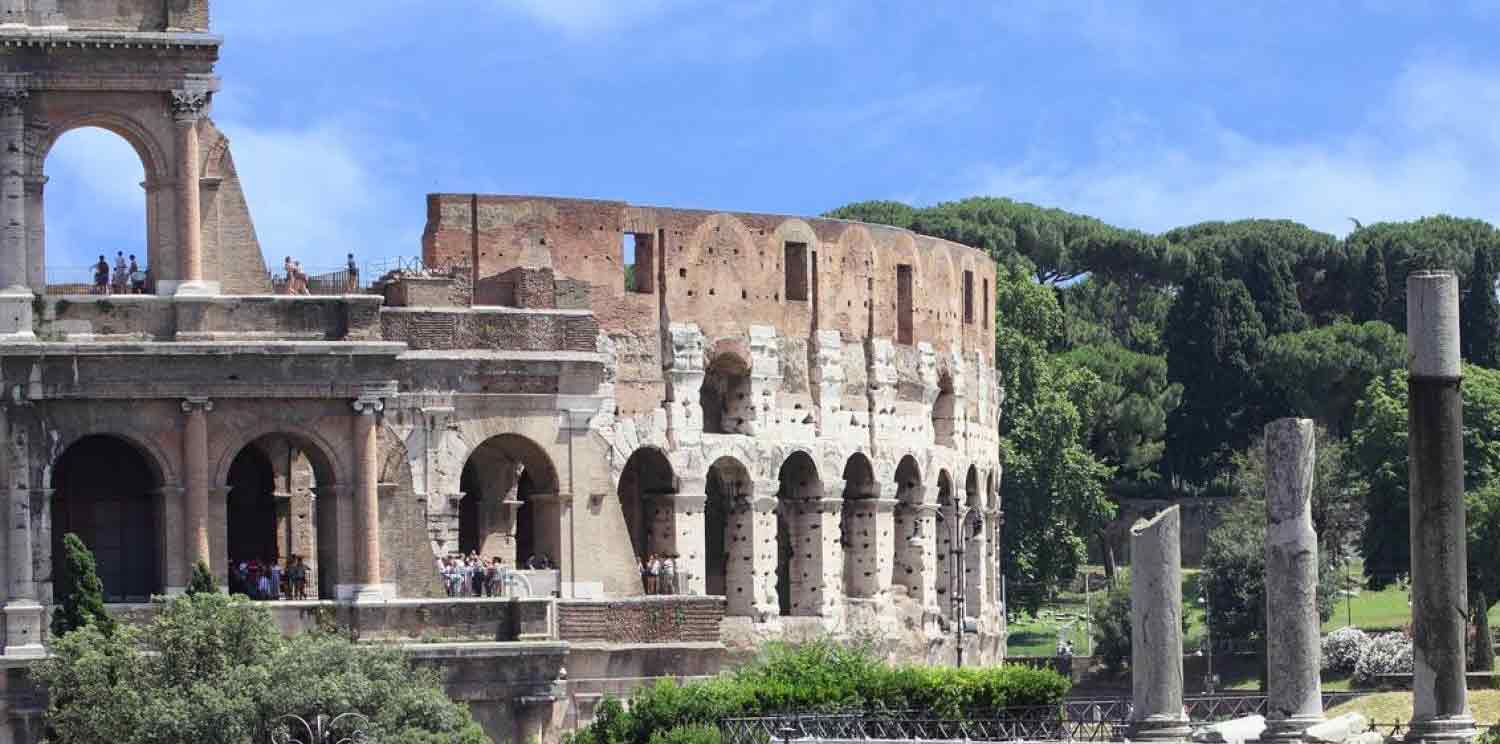 Rome Colosseum & Catacombs Tour with typical lunch