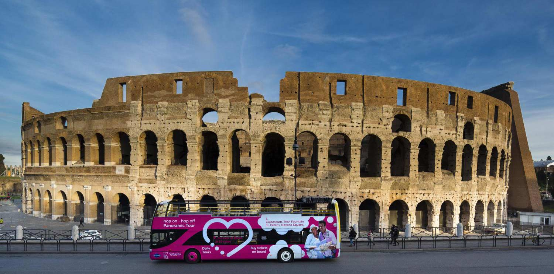Autobús turístico de Roma