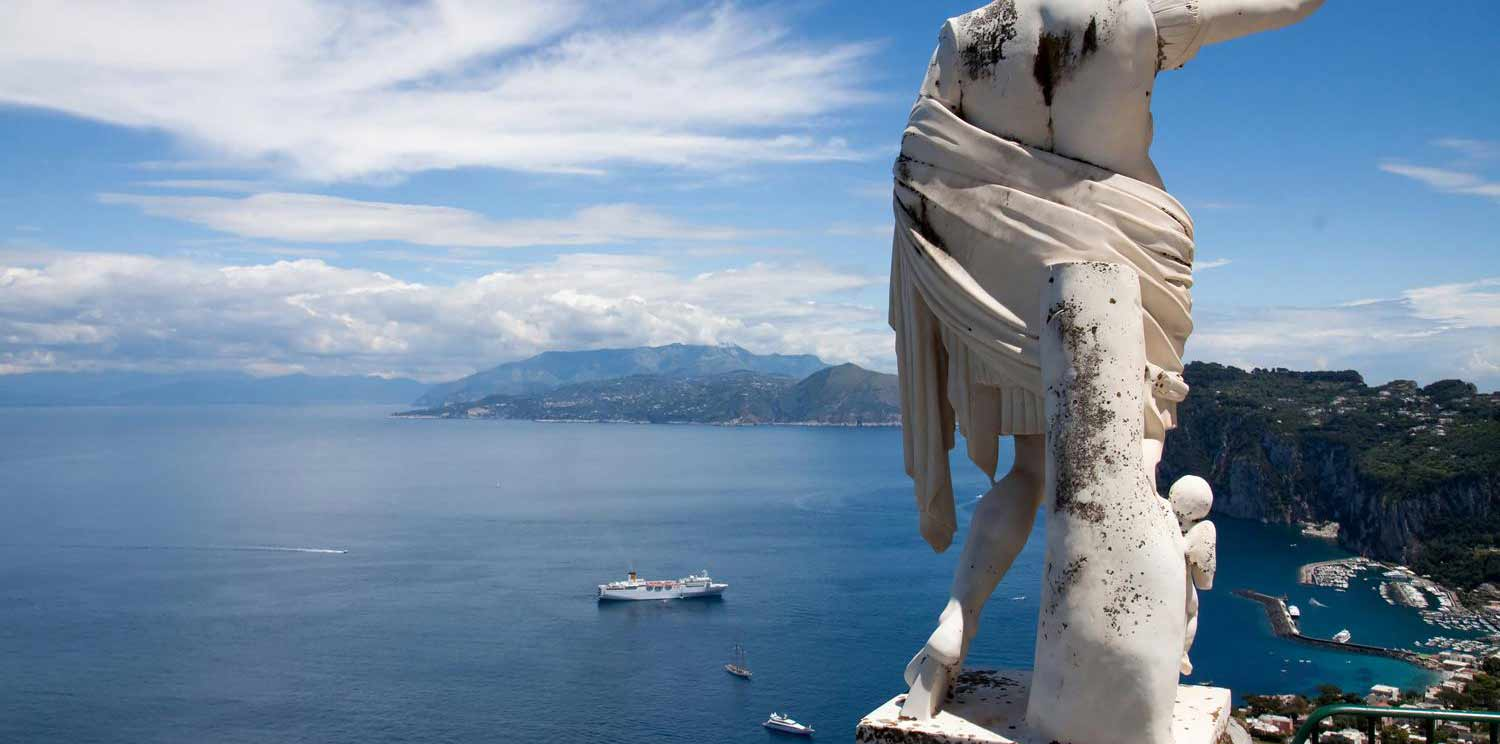 3 Days Capri Island Tour with Blue Grotto from Rome