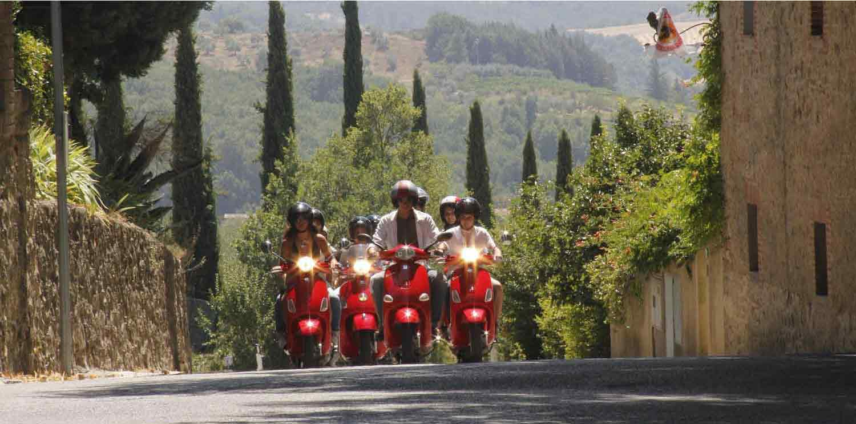 Chianti Tour by Vespa from Siena