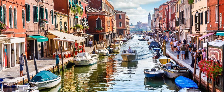 Excursión a Murano, Burano y Torcello