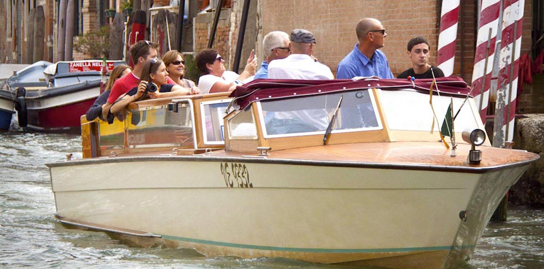 Paseo en barco por Venecia