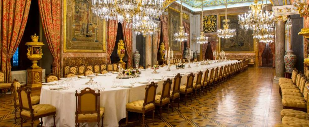 Visita privada en el Palacio Real de Madrid