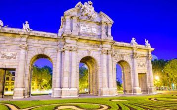 Visita nocturna por Madrid
