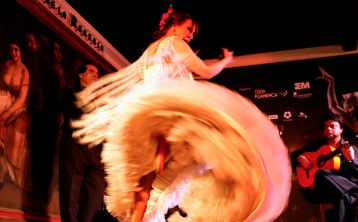 Madrid: Espectáculo Flamenco en El Corral de la Morería con copa o cena
