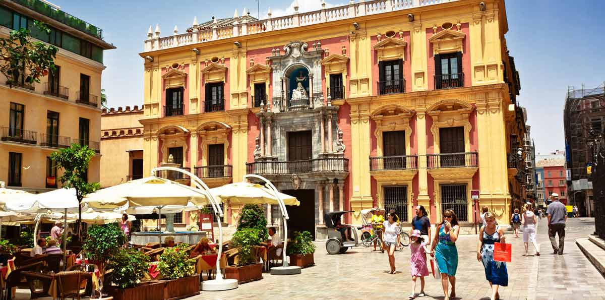 Visita nocturna por Málaga