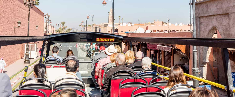 Bus turístico de Marrakech
