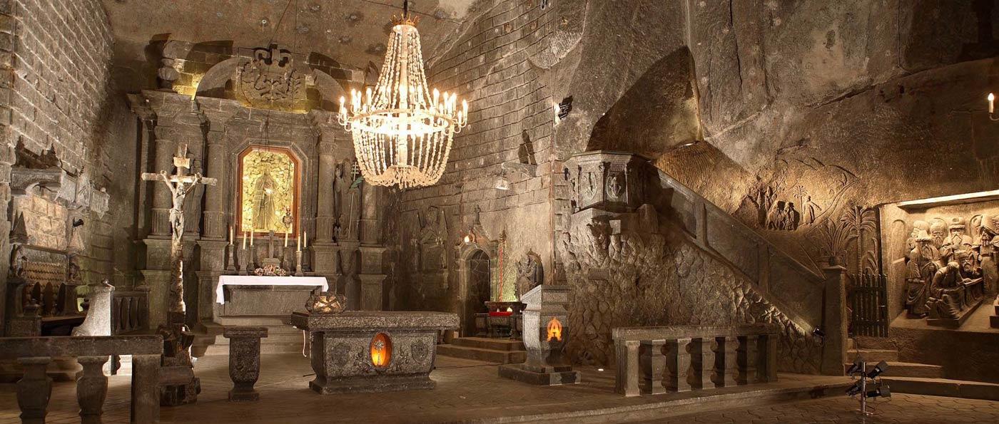 Excursión a las minas de Sal de Wieliczka