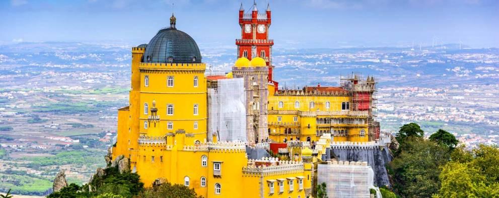 Excursión a Sintra y Cascais con Palacio de Pena