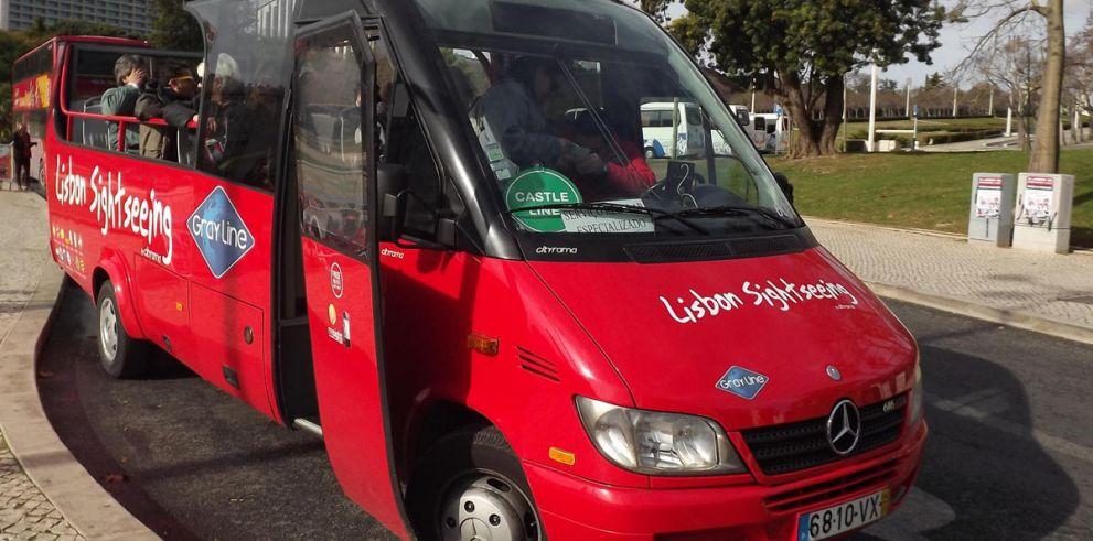 Autobús turístico Lisboa - Línea Castillo
