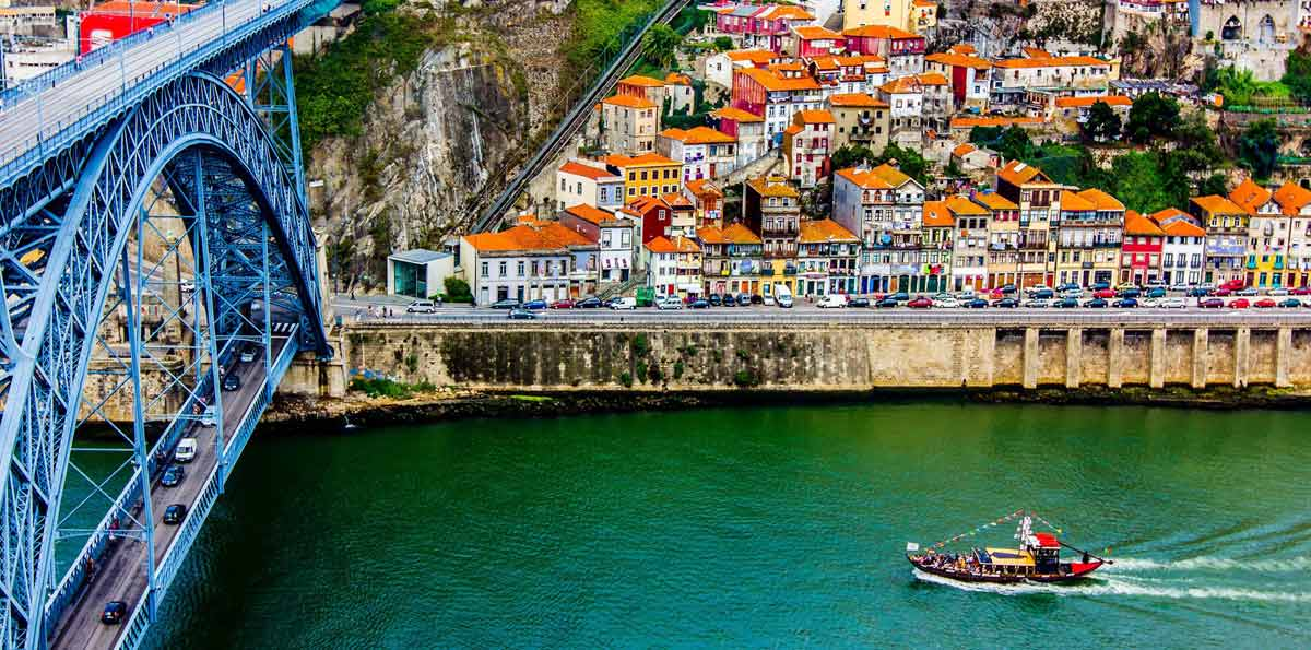 Visita guiada en Oporto y Crucero de los Seis Puentes