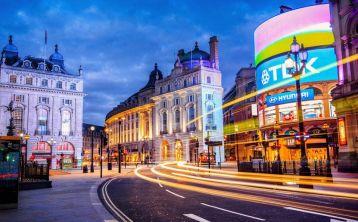 Visita nocturna en Londres