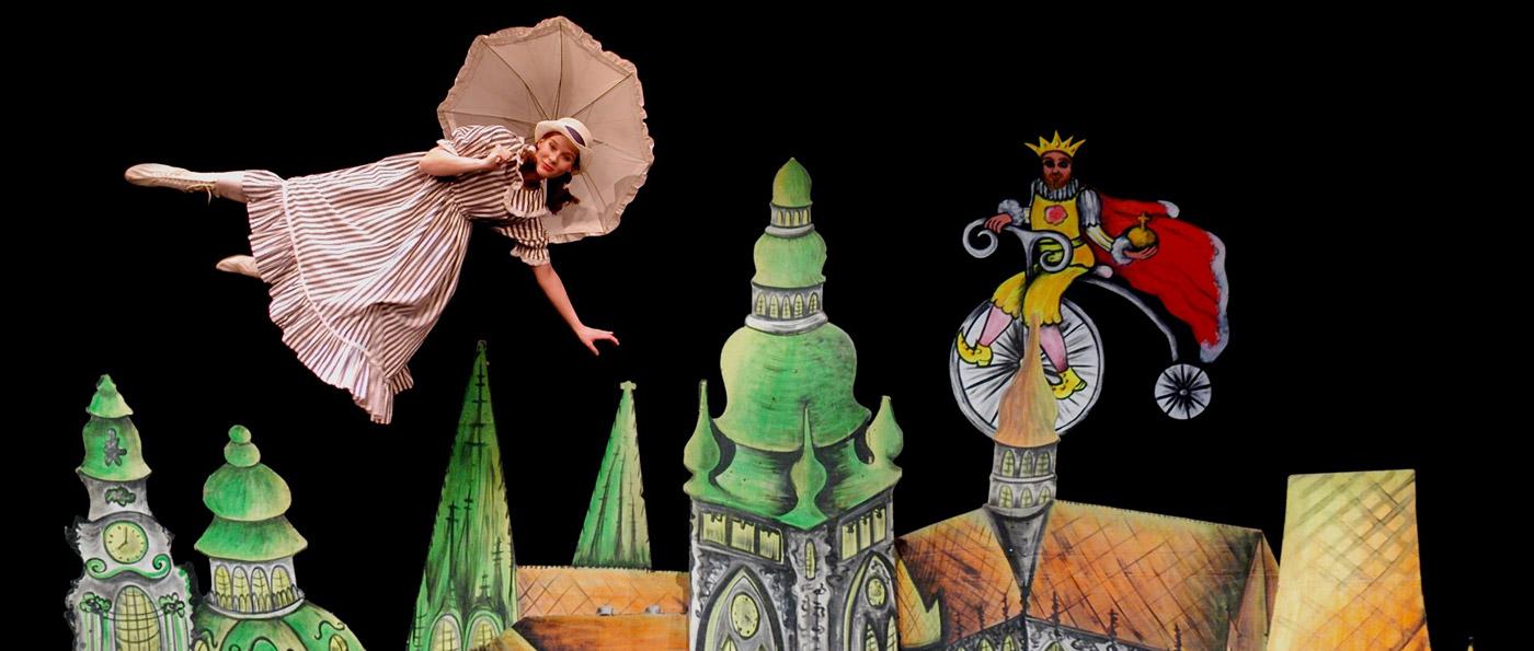 Entrada al Teatro Negro de Praga: Aspects of Alice