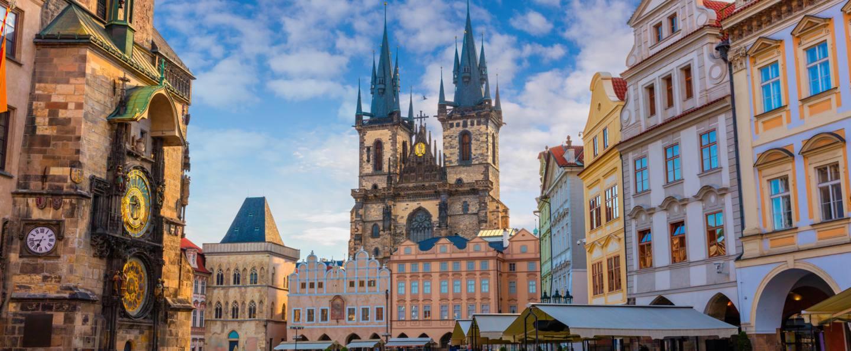 Plaza Ciudad Vieja de Praga