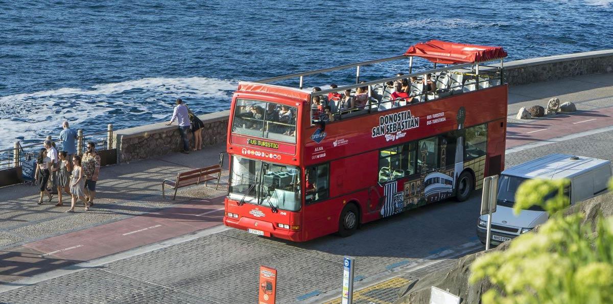 Autobús Turístico Donostia - San Sebastián City Tour