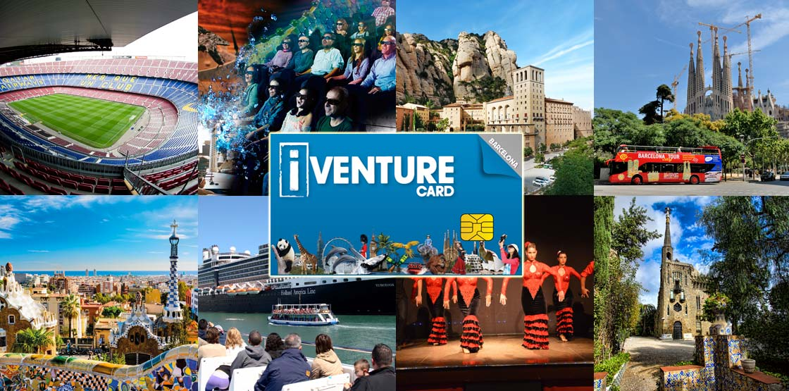 iVenture Card Barcelona: Tours, tickets and attractions pass