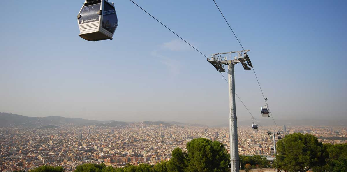 Ticket Teleférico de Montjuïc en Barcelona