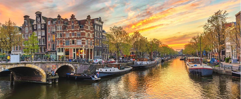 Tour desde París a Brujas y Ámsterdam