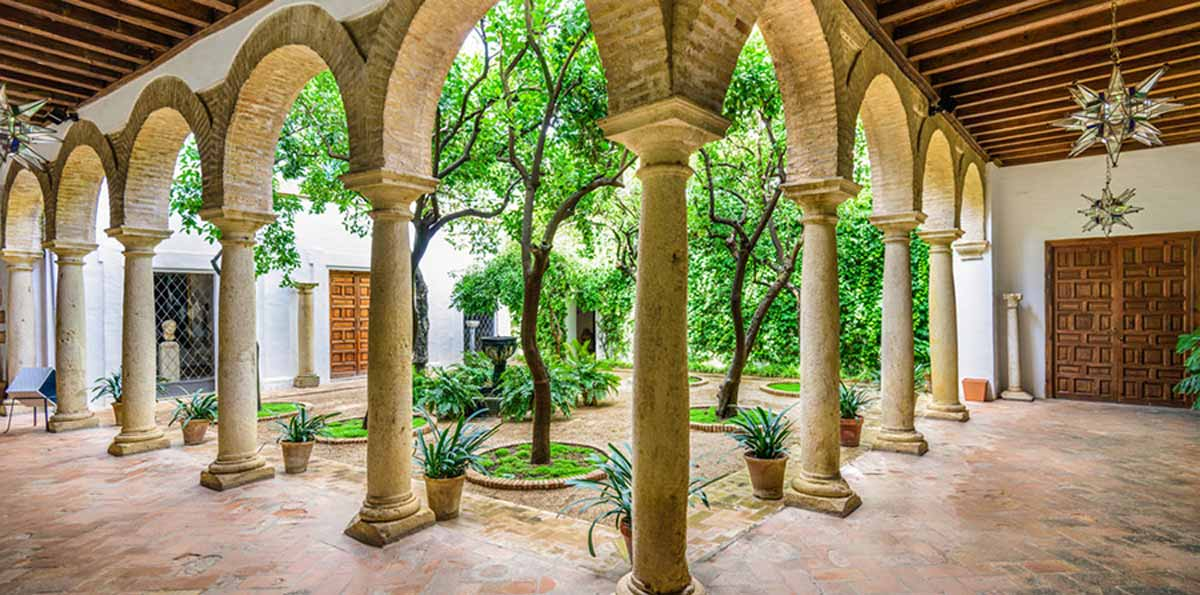 Courtyards of Viana guided Tour with Ticket to the Palace
