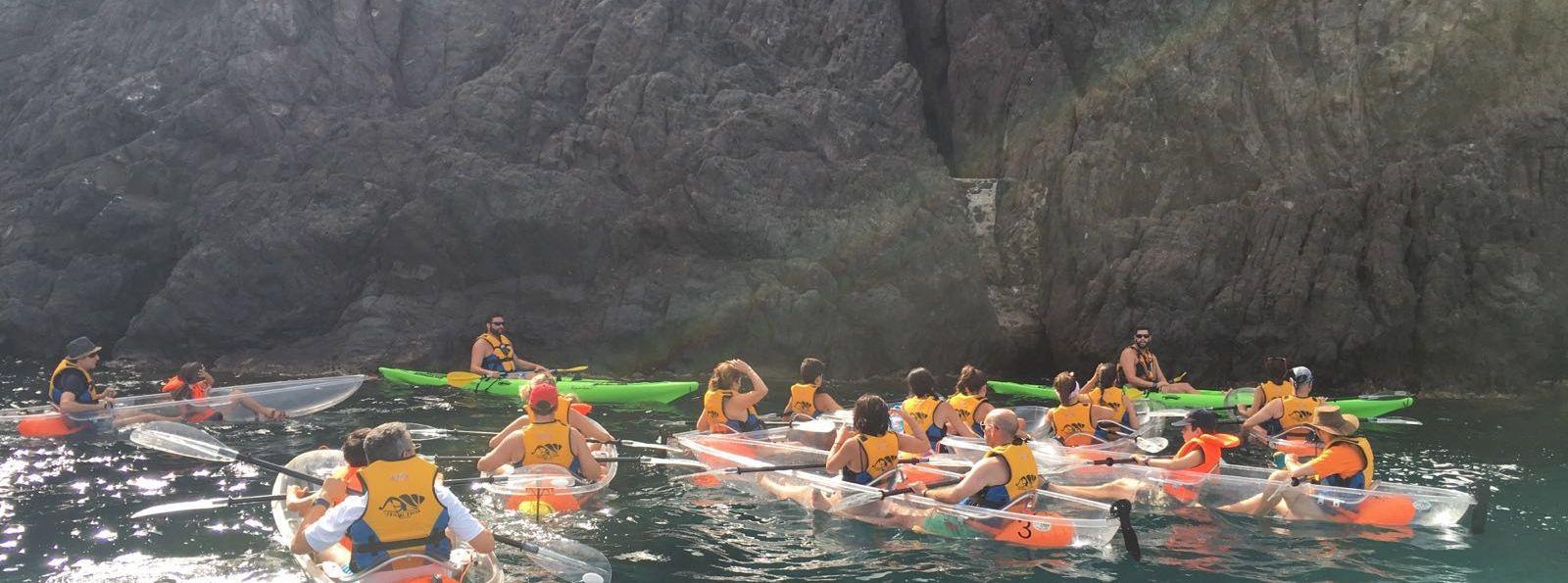 Kayak por el Arrecife de las Sirenas