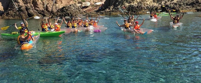 Ruta en Kayak de San José a Los Genoveses