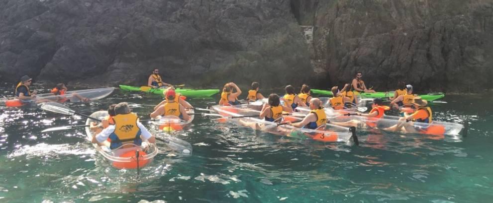 Ruta en Kayak de San José a Cala Higuera