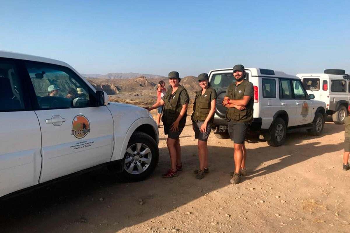 Excursión en 4x4 por el desierto de Tabernas