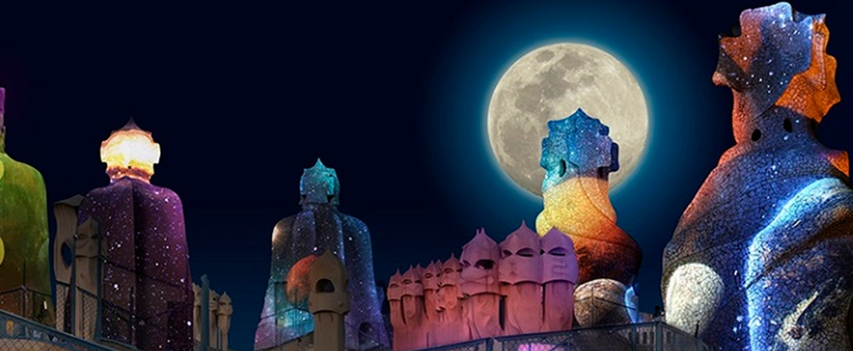 Entradas La Pedrera de noche