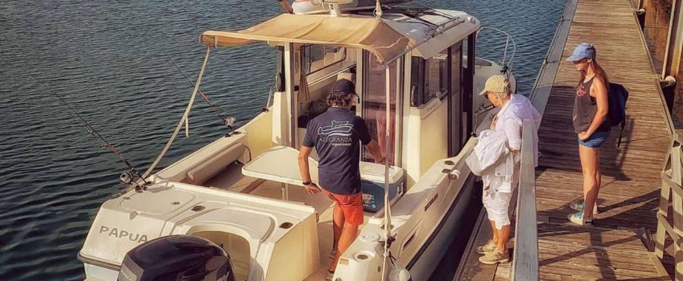 Alquiler barco con patrón Puerto Santa María