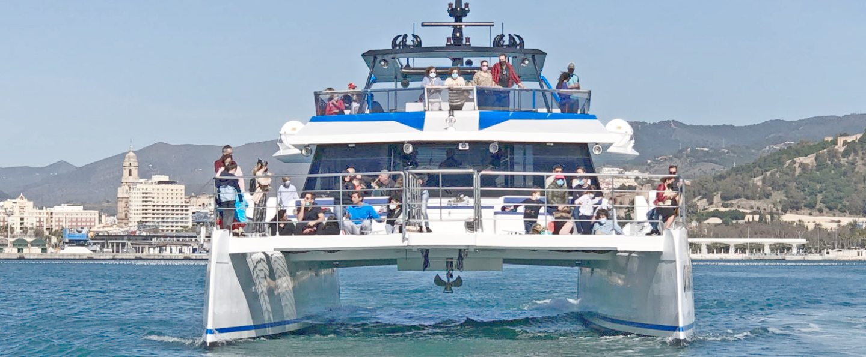 Paseo en catamarán por Málaga