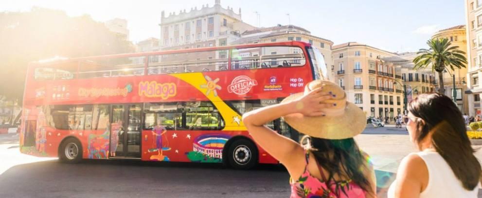 Bus turístico de Málaga